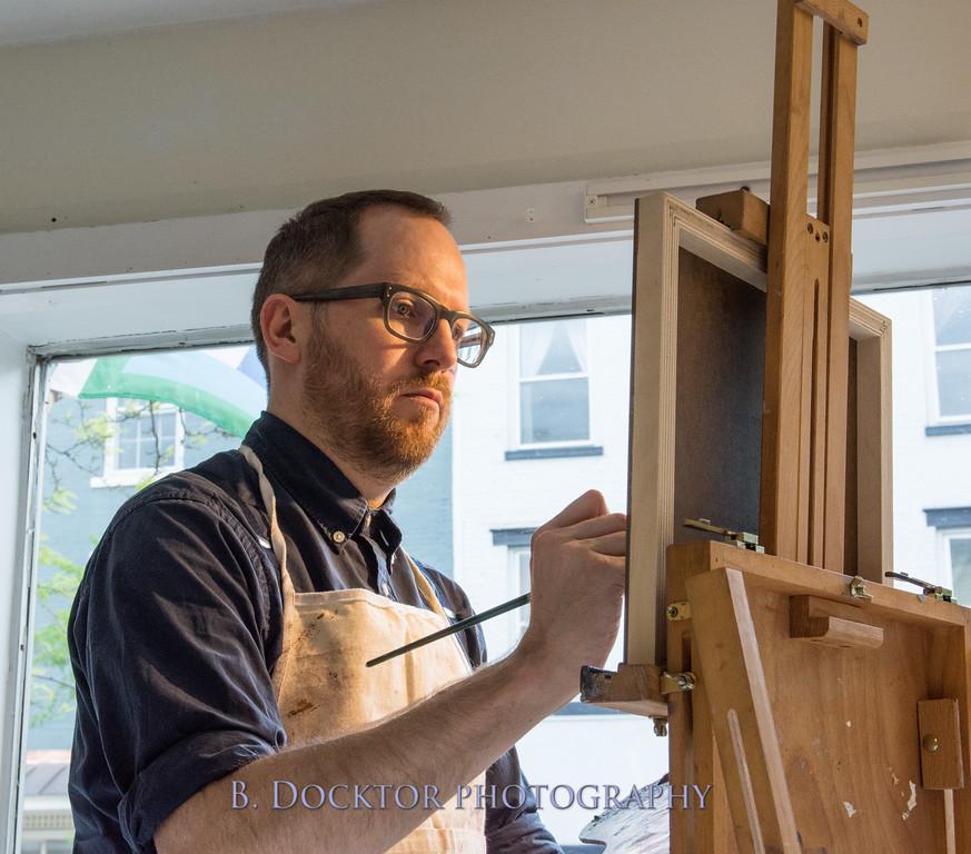 Carl Grauer opening at 510 Warren St  Gallery-15