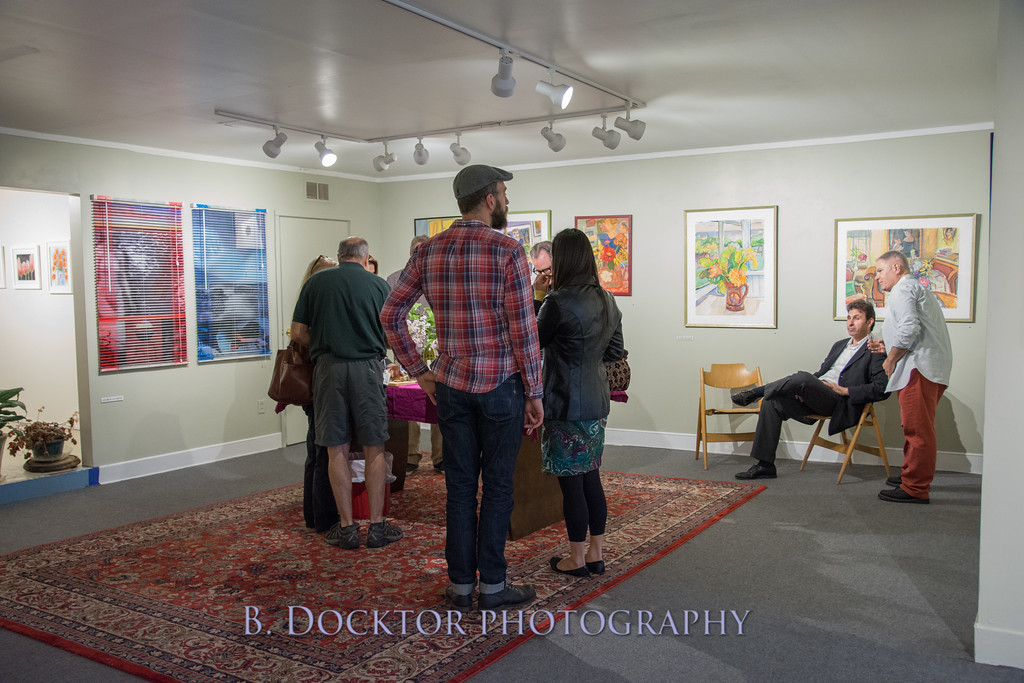 Carl Grauer opening at 510 Warren St  Gallery-33
