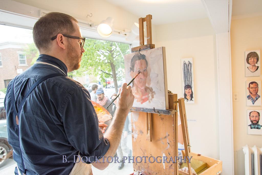 Carl Grauer opening at 510 Warren St  Gallery-7