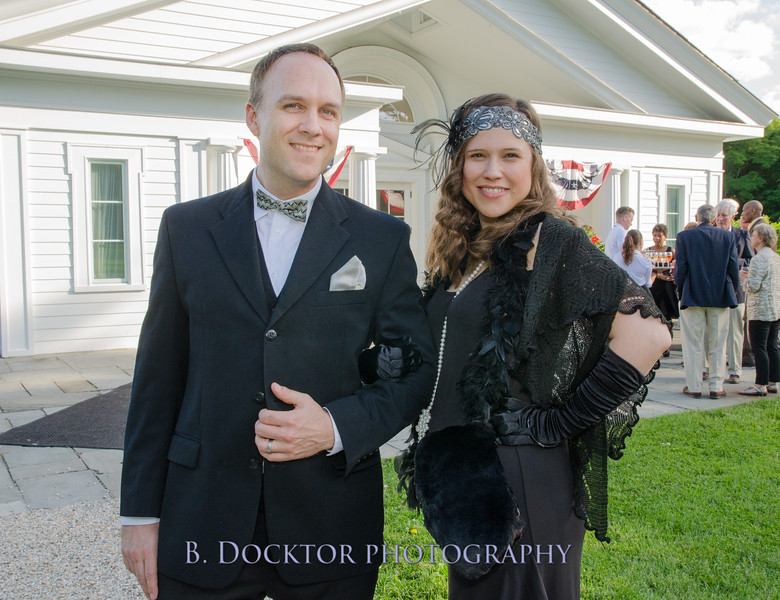 Marketing Director Jeremy Clowe with his wife Sarah Clowe