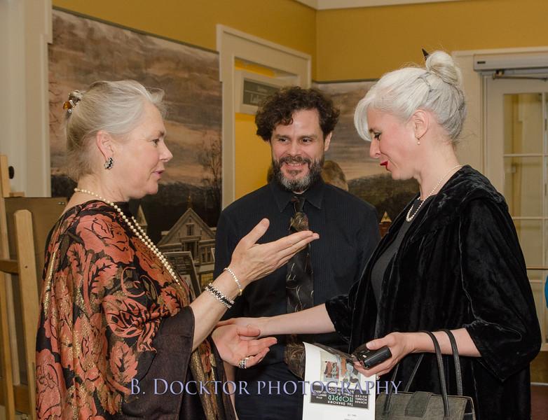Laurie Norton Moffatt, Roger Reed, Jaleen Grove