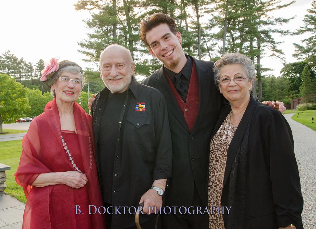 Anne Sterlin, Murray Tinkelman, Carol Tinkelman, Ryan Mitten. (Sterlin or Sterling?) Anne is Laurie Norton's assistant.