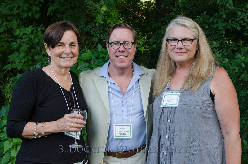 Event Co-Chair Lydia Kukoff, Board Chairman Nick Van Alstine , Event Co-Chair Madaline Sparks