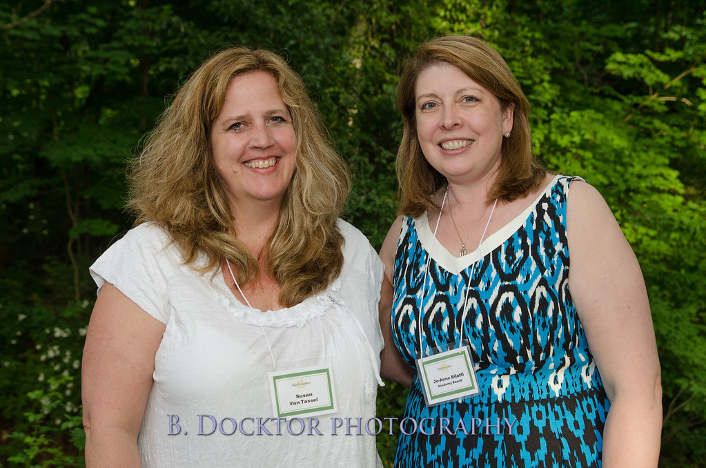Susan Van Tassel with Board Member Jo-Anne Bilotti