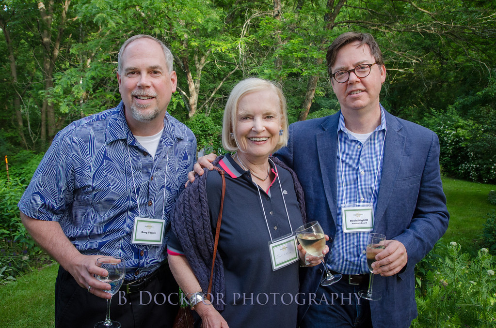 Greg Volger, Joan Kadin, Board Member David Highfill