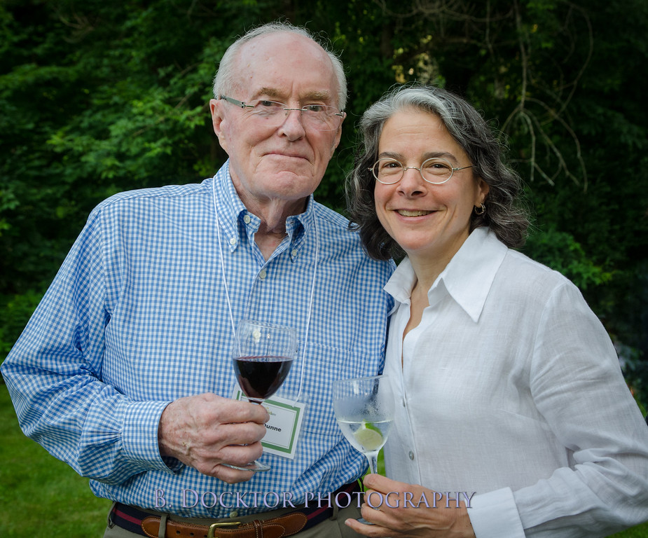 Former NY State Senator John Dunne and Michele Steckler
