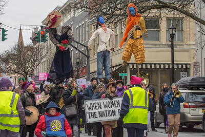 Women March On! Hudson 2019-12