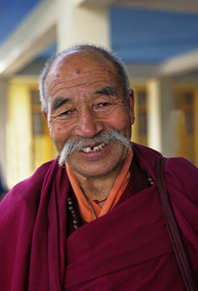 A good laugh is at least as fine a response to the existential dilemma as any rational, intelligent, sensible response. —<i> 12 Great Laughs of the Primordial Buddha </i> <i>L1610 Dharamsala</i>