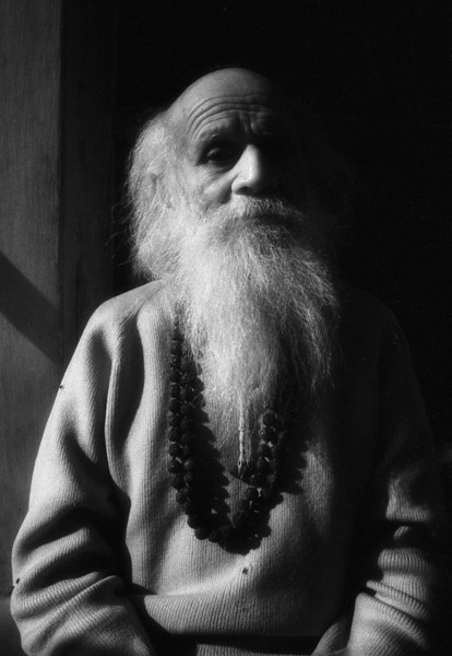 When the mind is there, a person is an ordinary human being. When the mind has been transcended, a person becomes a great being, a saint.  —Bhagwan Nityananda of Ganeshpuri,  <i> Siddha Yoga </i> <i>L2652 sadhu, Rishikesh, infrared</i>