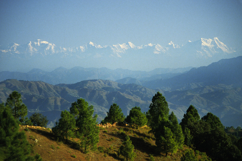 The Inner Silence is self-surrender. And that is living without the sense of ego. —Ramana Maharshi <i>L1256 Himalayan Mountains from Tarkeswar </i>