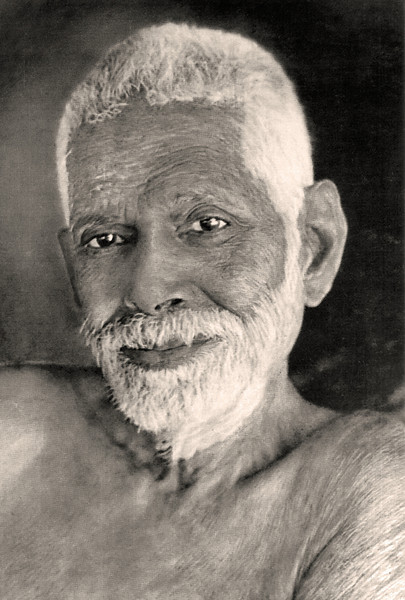 If the enquiry 'Who am I?' were a mere mental questioning, it would not be of much value. The very purpose of self- enquiry is to focus the entire mind at its source. It is not therefore, a case of one 'I' searching for another 'I'. —Ramana Maharshi,  <i> Maharshi's Gospel vol. II, ch. 1 </i> <i> L3013 Ramana Maharshi, ashram photo, not for sale </i>