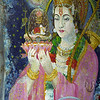 What I am is impossible for your mind to grasp, so worship me in whatever form appeals to you. I promise in that very form I will come to you.  —<i> Tripura Rahasya </i> <i>L2505 Painting on 'Tutwala Baba's' cave wall, Rishikesh</i>