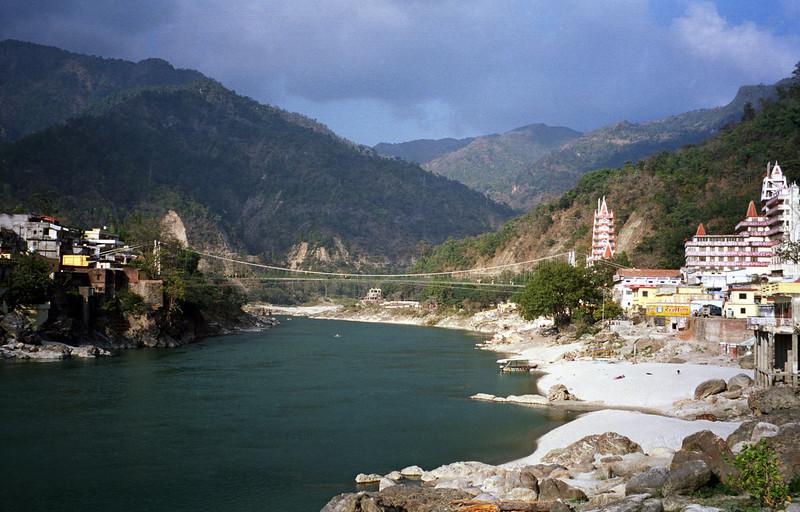 We are ancient travelers in the world and our purpose is to attain perfection. It can be achieved by living in a remote hut or in the midst of a crowded city, provided we have a composed mind. —Swami Rama,   <i> Swami Rama of the Himalayas </i> <i>L2323 Laxman Jhula</i>