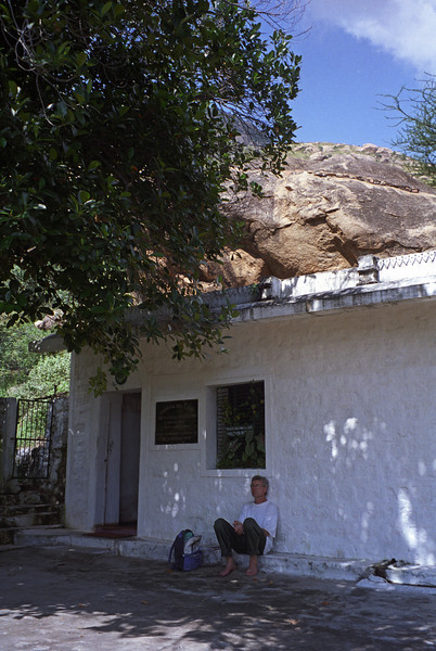 Until you reach the source, there is no peace. —Ramana Maharshi <i>L3023 Ramana's cave on Arunachala for 16 years.</i>