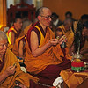 Religion does not mean just precepts, a temple, monastery, or other external signs, for these as well as hearing and thinking are subsidiary factors in taming the mind. When the mind becomes the practices, one is a practitioner of religion, and when the mind does not become the practices, one is not.  —His Holiness the Dalai Lama <i>L1603 Dharamsala </i>