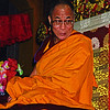 I always tell people in non-Buddhist countries that followers of other religions should maintain their own tradition. To change religion is not easy, and people can get into trouble as a result of confusion. So it is much safer to keep to one's own tradition, while respecting all religions. I'm Buddhist—sometimes I describe myself as a staunch Buddhist—but, at the same time, I respect and admire the works of other traditions' figures such as Jesus Christ. Basically, all the religious traditions have made an immense contribution to humanity and continue to do so, and as such are worthy of our respect and admiration.  —HH the Dalai Lama,   <i> Lighting the Way</i> <i>L0920 Dalai Lama, Dharamsala</i>