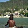 Who am I? The Observer behind observing;  still, silent, nameless state. —Deepak Chopra <i> L2998 Rishikesh </i>