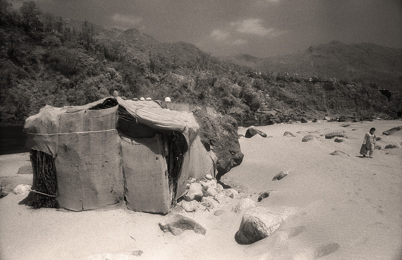 The nature of reality is this: It is hidden, and it is hidden, and it is hidden. —Rumi <i> L2179 Rishikesh, infrared </i>