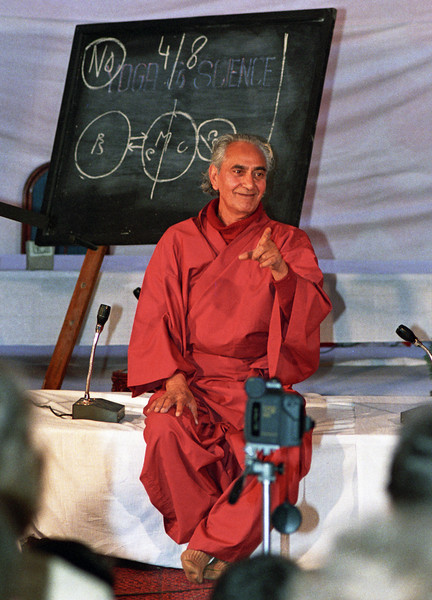The whole of the body  is in the mind, but the whole of the mind is not in the body. —Swami Rama <i> L3040 Swami Rama, Rishikesh </i>