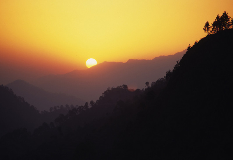 """At dawn do I sing the praise of That which is unreachable for the mind and words, but by whose grace all words shine.  That which the scriptures indicate by the words """"not this,"""" """"not this"""". —Shankara <i> L1481 Himalayan foothills </i>"""