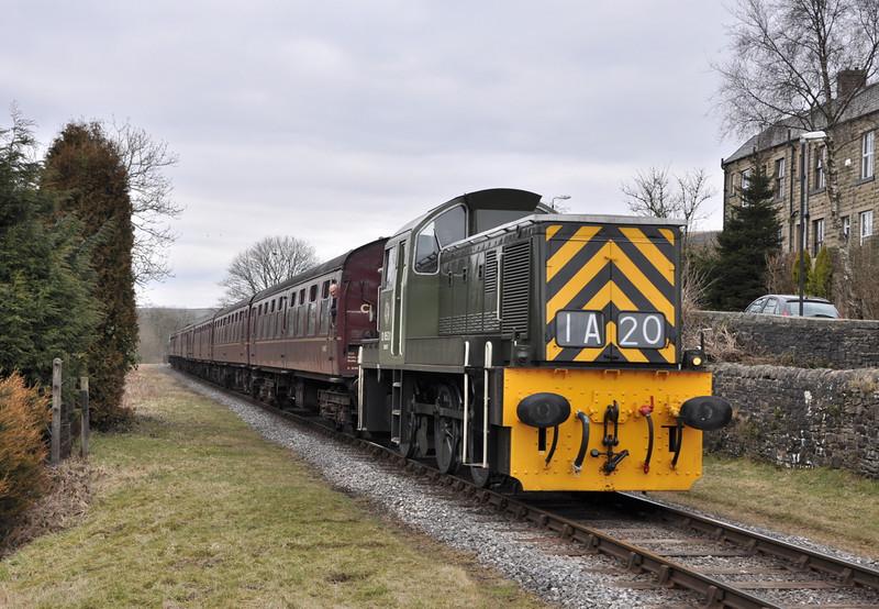 D9531, Irwell Vale.