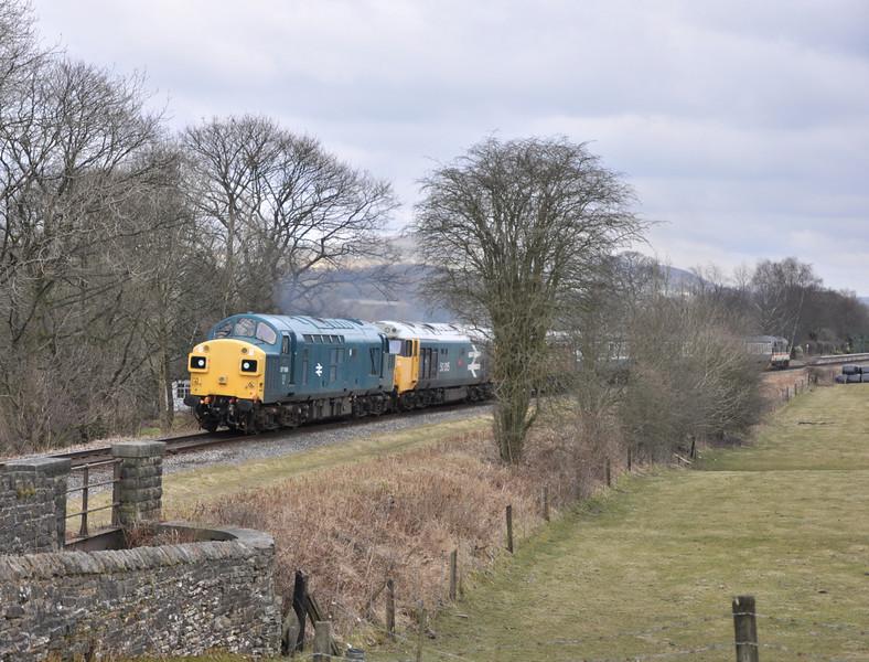 37109 and 50015, Irwell Vale.