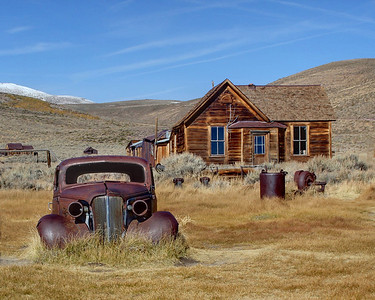 Old Town of Bodie