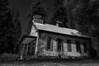 "Abandoned school house in a Northern California ghost town. Brings to mind those famous Alice Cooper lyrics...<br /> ""School's out... forever!"""