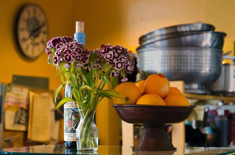 One of my first photos, this is the counter top of a very good breakfast bakery in Santa Cruz, CA.