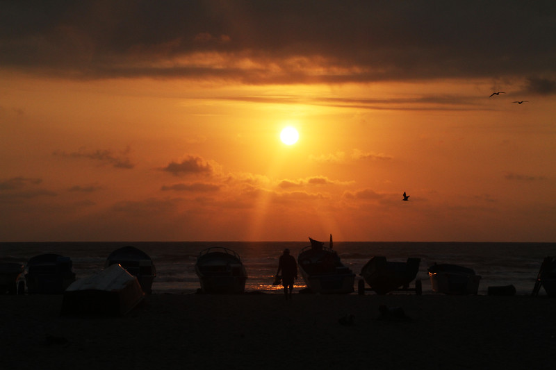 SUNSET CANOA