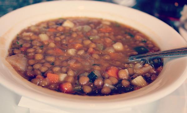 Lentil soup...yum!