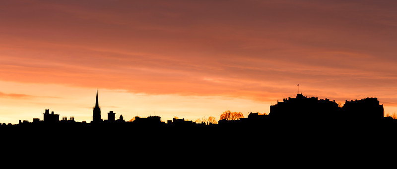"Silhouette of Edinburgh at Sunrise.  Follow me on: <a href=""https://www.facebook.com/PhilipCormackPhotography"" rel=""nofollow"">Facebook</a> 