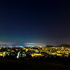 Aurora Borealis Over Edinburgh