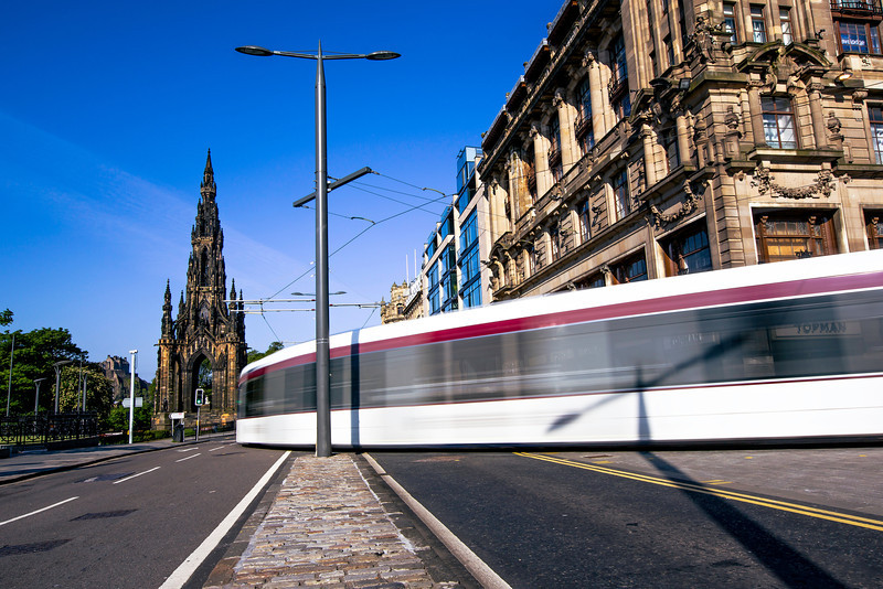 Edinburgh Tram on Prince's Street