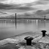 "A moody B&W image of the Forth Road Bridge.  Follow me on: <a href=""https://www.facebook.com/PhilipCormackPhotography"" rel=""nofollow"">Facebook</a> 