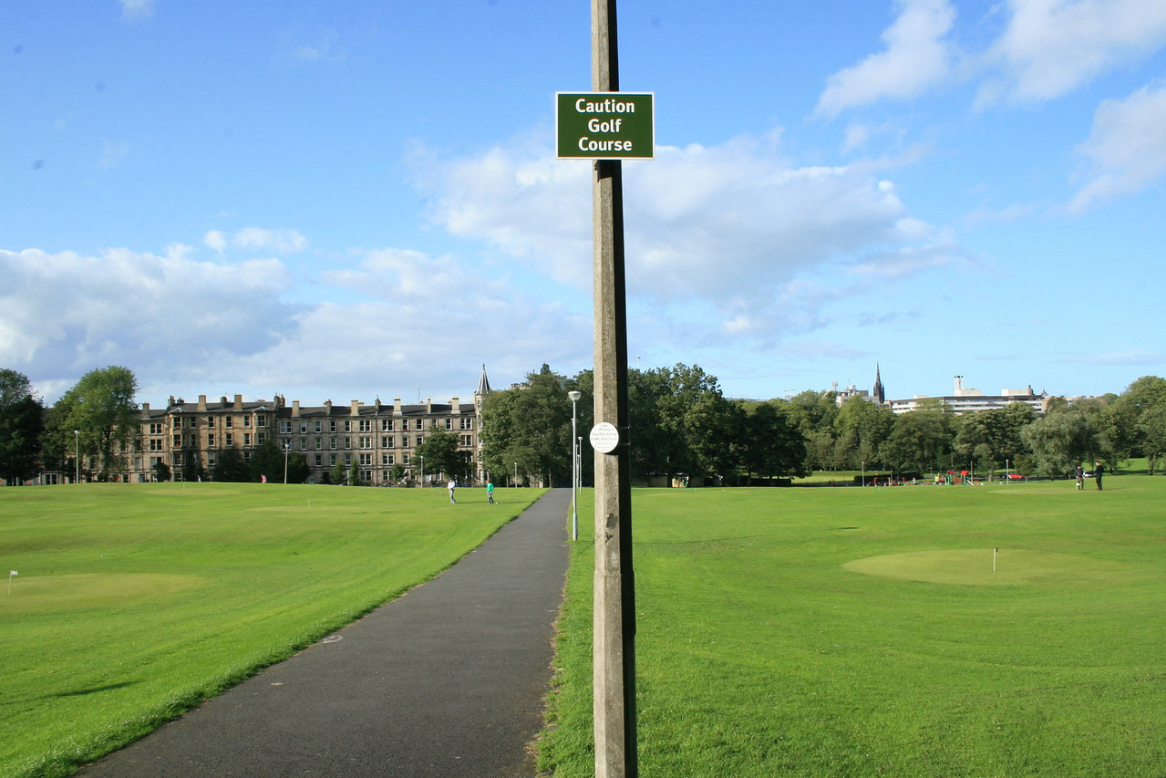 The flat was located on the Meadows.