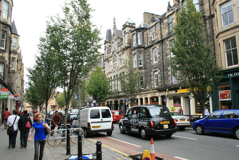 Edinburgh is compact, gorgeous, and fast-paced. Do not attempt to cross the street if you haven't had your Nescafe yet.
