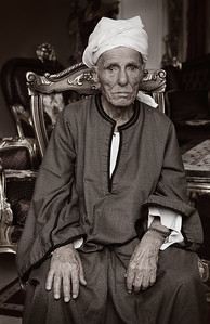 Family Patriarch, Cairo, Egypt 2011