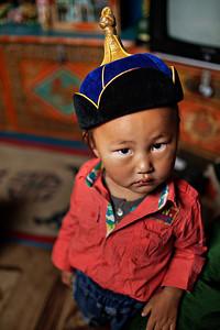 Mongolian Hat, Steppes, Mongolia