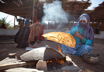 Bedouin Food Preparations on the Sinai, Egypt