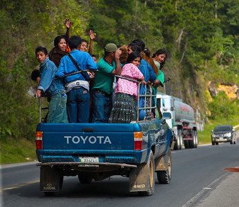 Afternoon Taxi Ride, Guatemala