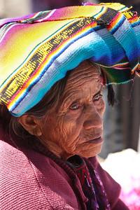 Aging Beauty, Chichicastenango, Guatemala