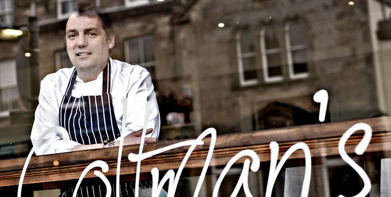 Kenny Coltman - Chef/Owner Coltmans Bistro - Image shot for The Slow Food Movement All Rights Reserved