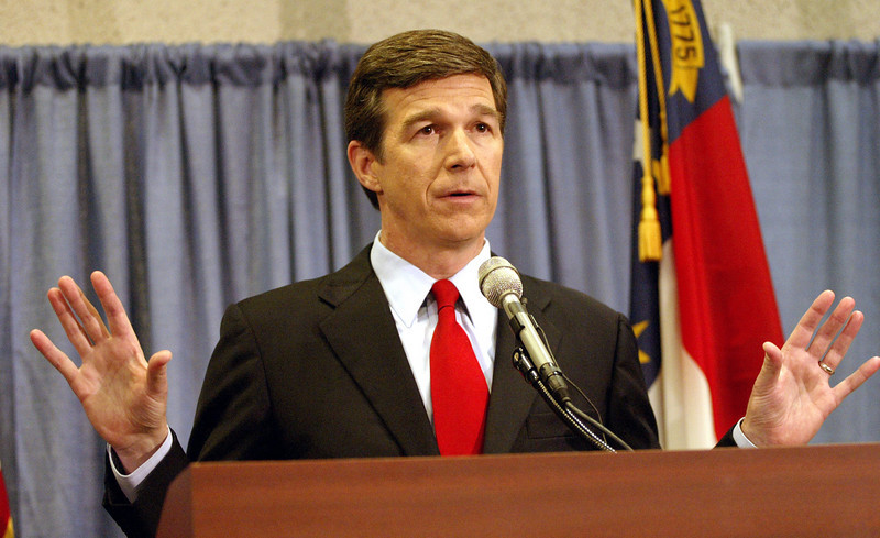 NC Attorney General Roy Cooper announces the findings of the State of NC's findings of the Duke Lacrosse Player accused of raping a stripper. Cooper mentioned the State found no reason to convict and acquitted all three of the players. April 11, 2007