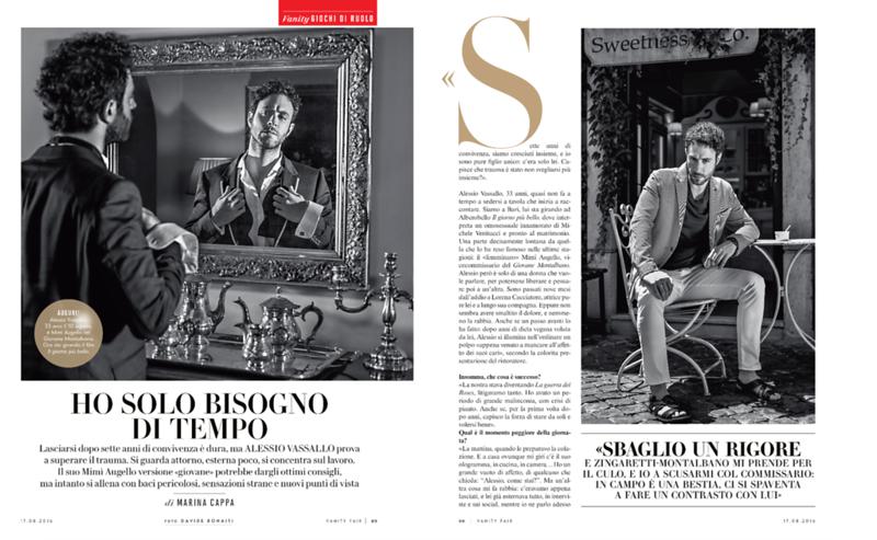 Vanity Fair  - Alessio Vassallo - August 2016