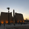 Luxor temple early evening...built for Ramses and Nefetari.