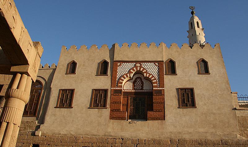 Church inside Dendera Temple complex