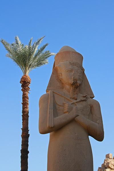 Statue of Ramses.