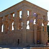 Philae Temple built for goddess Isis.  Originally on an island but part of Unesco project when building Aswam Dam.