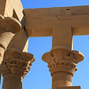 Columns of Philae Temple.